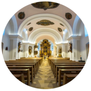 Spezialgebäude wie Kirchen